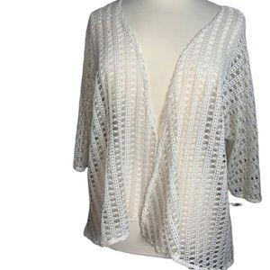 LuLaRoe Lindsay Kimono Coverup open size Large